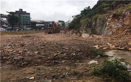TP. Quy Nhơn (Bình Định): Chưa có giấy phép, doanh nghiệp vẫn tự ý san lấp mặt bằng xây dựng dự án?