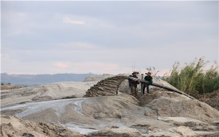 Đăk Nông: Dự án nạo vét tiêu thoát nước thành công trường... khai thác cát!