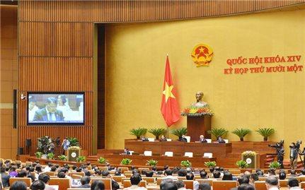 Quốc hội tiến hành miễn nhiệm và kiện toàn nhân sự vị trí Chủ tịch Quốc hội