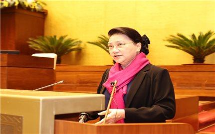 Chủ tịch Quốc hội dự Hội nghị Tổng kết Công tác năm 2020 của Văn phòng Quốc hội