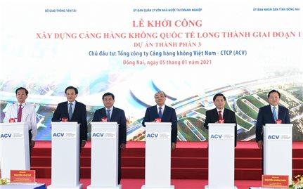 Thủ tướng phát lệnh khởi công Cảng hàng không quốc tế Long Thành