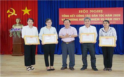 Ban Dân tộc tỉnh An Giang: Triển khai công tác dân tộc năm 2021
