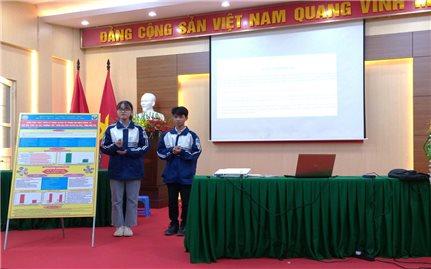 Một dự án thiết thực của học sinh Phú Thọ giữa đại dịch Covid-19
