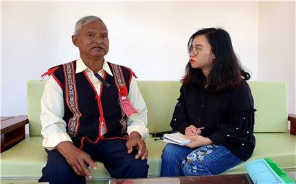 Người có uy tín trong đồng bào DTTS ở Gia Lai: Chung tay thay đổi diện mạo thôn làng