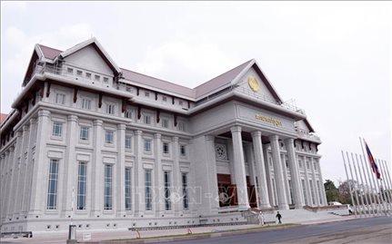 Tòa nhà Quốc hội mới của Lào: Biểu tượng của tình đoàn kết Lào - Việt Nam