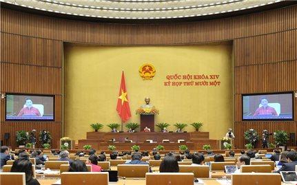 Quốc hội khóa XIV thể hiện rõ trách nhiệm, hành động vì lợi ích của Nhân dân, đất nước