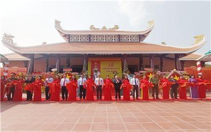 Đồng Nai: Khánh thành Đền thờ liệt sỹ huyện Xuân Lộc