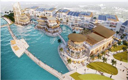 Sắp có đại trung tâm thương mại trên mặt nước đầu tiên ở Việt Nam