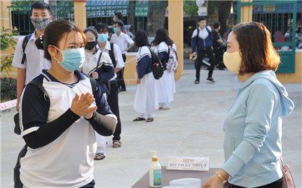 Quảng Nam: Học sinh 2 huyện, thị xã được phép trở lại trường để kiểm tra học kỳ II
