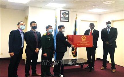 Việt Nam hỗ trợ Nam Sudan phòng chống dịch Covid-19