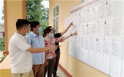 Yên Bái: Đảm bảo quyền bầu cử cho cử tri đang bị cách ly