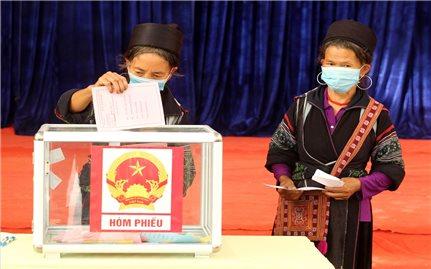 Hơn 69 triệu cử tri tham gia bầu cử đại biểu Quốc hội và Hội đồng nhân dân các cấp