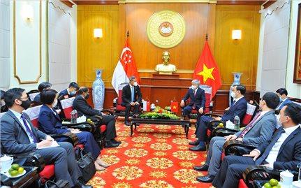 Mối quan hệ hợp tác kinh tế Việt Nam - Singapore là mô hình thành công tiêu biểu trong khu vực Đông Nam Á