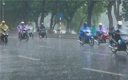 Thời tiết ngày 20/7: Tây Bắc Bộ, Tây Nguyên, Nam Bộ có mưa to