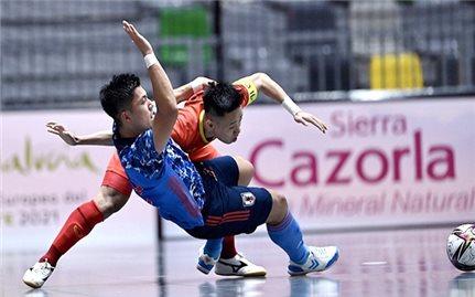 Futsal Việt Nam gây ấn tượng trước World Cup