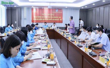 Công tác phối hợp giữa Ủy ban Dân tộc và Hội LHPN Việt Nam ngày càng đi vào thực chất