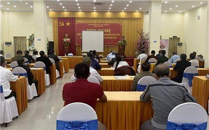 Nghệ An: Ban Dân tộc tỉnh triển khai các lớp tập huấn và tuyên truyền phổ biến giáo dục pháp luật