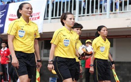 Trọng tài Bùi Thị Thu Trang tham dự Hội thảo chuẩn bị cho VCK World Cup Nữ 2023