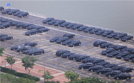 Hình ảnh những mẫu xe chở đại biểu APEC 2017 tại Đà Nẵng