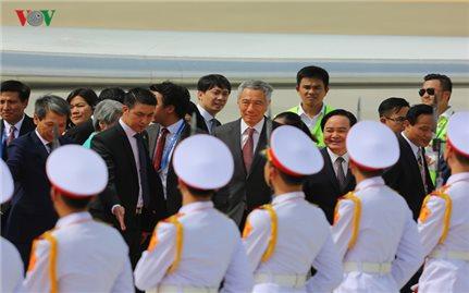 Thủ tướng Singapore Lý Hiển Long đến Đà Nẵng