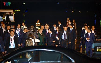 Tổng thống Chile tới Đà Nẵng tham dự Tuần lễ cấp cao APEC