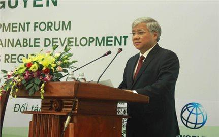 Bộ trưởng, Chủ nhiệm Đỗ Văn Chiến chủ trì Diễn đàn xúc tiến hợp tác công tư trong phát triển dân tộc thiểu số khu vực Tây Nguyên năm 2017