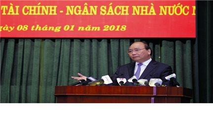 Thủ tướng Nguyễn Xuân Phúc: Chặt đứt nhóm lợi ích thao túng, hưởng lợi trên tài sản công