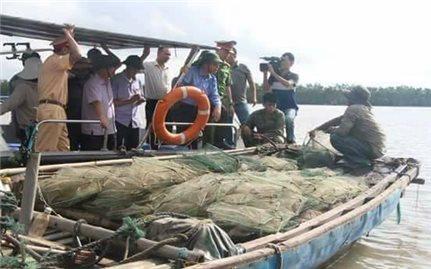 Kiên quyết ngăn chặn khai thác thủy sản bằng hình thức tận diệt