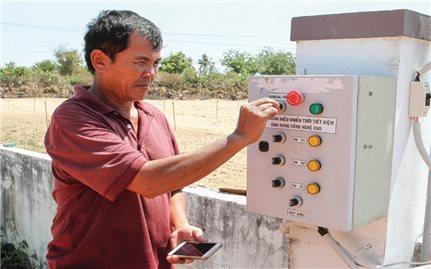 Ứng dụng công nghệ cao vào sản xuất ở làng Chăm Tuấn Tú