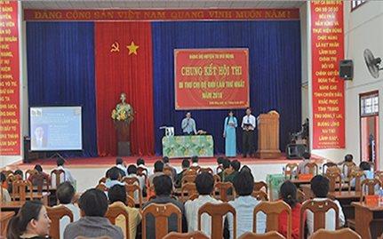 Ghi nhận từ Hội thi Bí thư Chi bộ giỏi ở Tu Mơ Rông