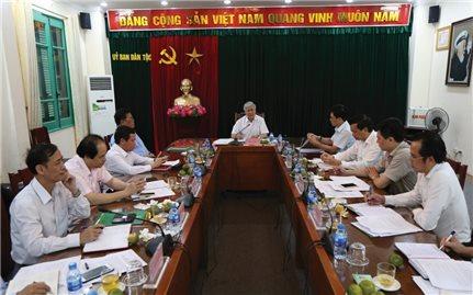Ủy ban Dân tộc: Xây dựng đề cương Đề án tiếp nhận công tác dân tộc ở các tỉnh khu vực Tây Bắc, Tây Nguyên và Tây Nam bộ