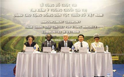 """""""Tìm kiếm ý tưởng chuỗi giá trị"""" dành cho cộng đồng DTTS tại Việt Nam: Cách làm mới góp phần thúc đẩy phát triển vùng DTTS và miền núi"""