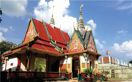 Chùa Sóc Lớn: Nơi lưu giữ nét văn hóa của người Khmer