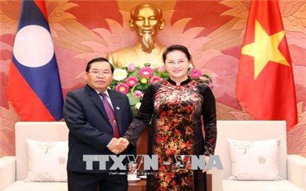 Tăng cường hợp tác, chia sẻ kinh nghiệm giữa hai Quốc hội Việt Nam, Lào