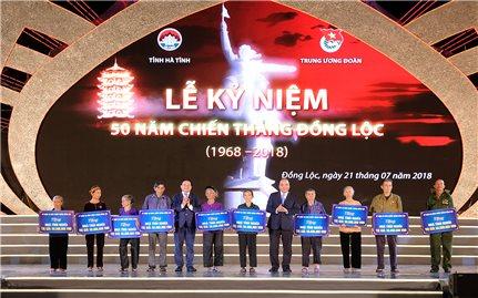 Hà Tĩnh long trọng kỷ niệm 50 năm Chiến thắng Đồng Lộc