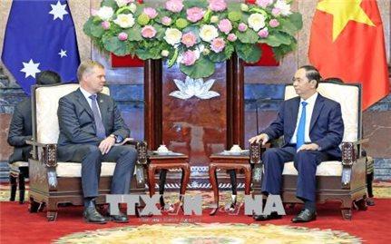 Việt Nam-Australia tiếp tục đẩy mạnh hợp tác trên các lĩnh vực trụ cột