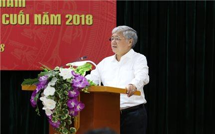 Bộ trưởng, Chủ nhiệm UBDT Đỗ Văn Chiến: Cần có quyết tâm cao để hoàn thành nhiệm vụ