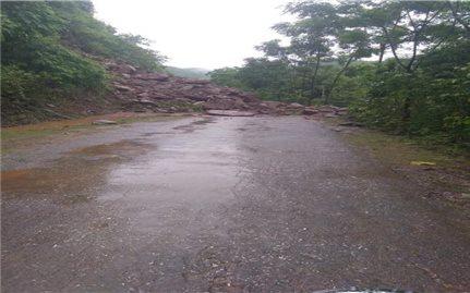 Thanh Hóa: Huyện Mường Lát bị cô lập do mưa lũ
