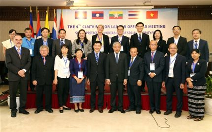 Khai mạc Hội nghị quan chức cấp cao về lao động CLMTV
