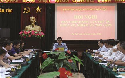 Ủy ban Dân tộc: Tiếp tục thực hiện tốt công tác xây dựng đảng
