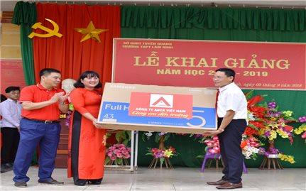 Công ty ABER Việt Nam đồng hành cùng em đến trường