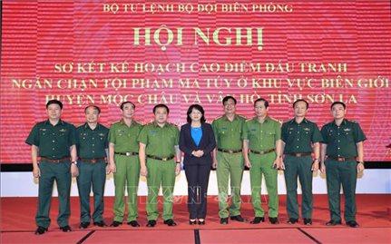 Quyền Chủ tịch nước dự Hội nghị sơ kết cao điểm chống ma túy tại Sơn La