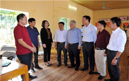 Bộ trưởng, Chủ nhiệm Ủy ban Dân tộc Đỗ Văn Chiến tiếp xúc cử tri tại tỉnh Tuyên Quang