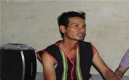 Đinh Y Sa Pa: Người có uy tín trẻ của buôn làng