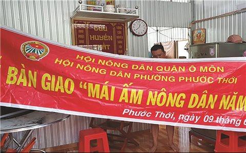 Hội Nông dân quận Ô Môn (Cần Thơ): Tranh công xây nhà cho người nghèo?