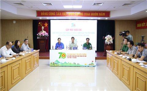 Nhiều hoạt động Kỷ niệm 70 năm Ngày truyền thống Lực lượng TNXP Việt Nam