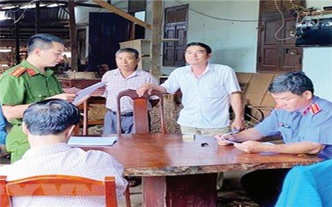 Gia Lai: Xử phạt vụ khai thác, tàng trữ lâm sản trái phép
