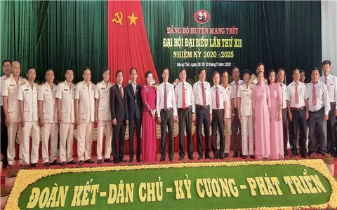 Đảng bộ Huyện Mang Thít (Vĩnh Long): Đại hội điểm bầu trực tiếp Bí thư thành công tốt đẹp