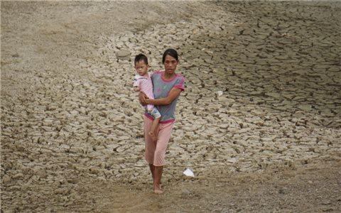 Hồ thủy lợi Mậu Lâm cạn trơ đáy: Không lo nạo vét, chỉ tận thu cát sỏi!