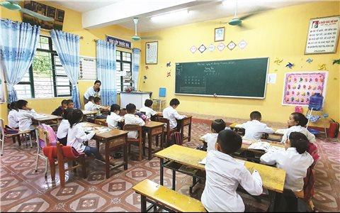 Triển khai chương trình sách giáo khoa mới ở Thanh Hóa: Các trường tiểu học miền núi gặp khó khăn